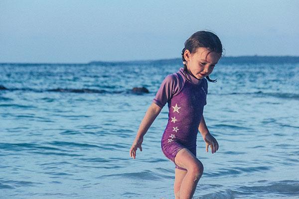 Ако детето ви не иска да излезе от водата
