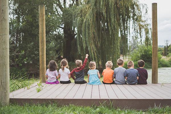Кога децата създават приятелства